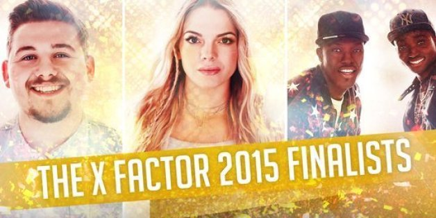 The 'X Factor' final three