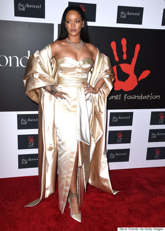 Rihanna And Kylie Jenner Channel Brides In Wedding Dress Inspired ...
