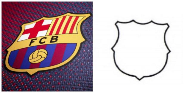 Les contours du logo du Barça ne deviendront pas une marque