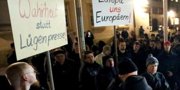 Viele Deutsche vertrauen den Medien nicht.