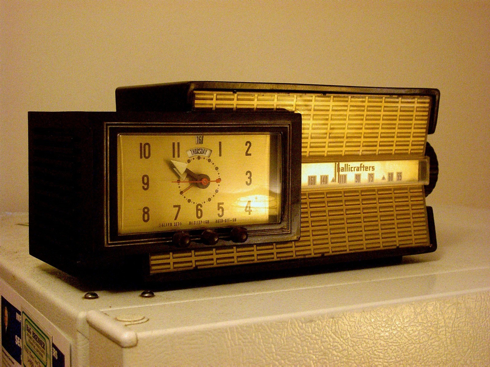 digital clock date