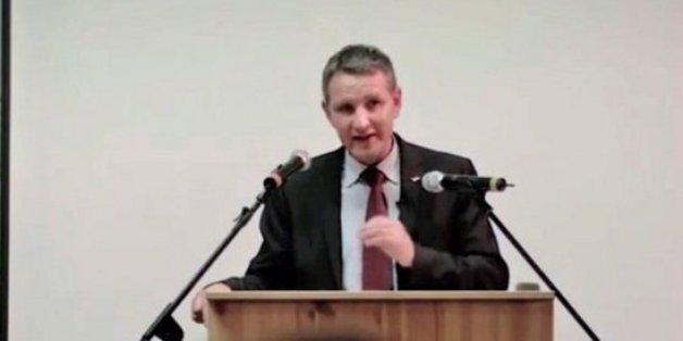 Höcke hielt eine radikale Rede