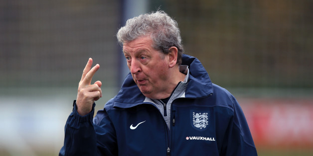 England's Roy Hodgson during a training session at Enfield Training Centre, London.