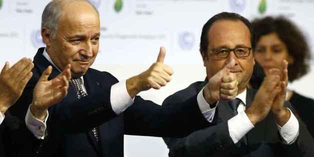 COP21: Adoption d'un accord historique pour limiter le réchauffement climatique