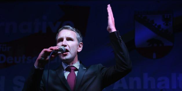 Björn Höcke bei einer Rede im Oktober