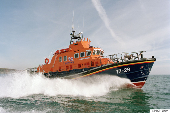 cornish lifeboat