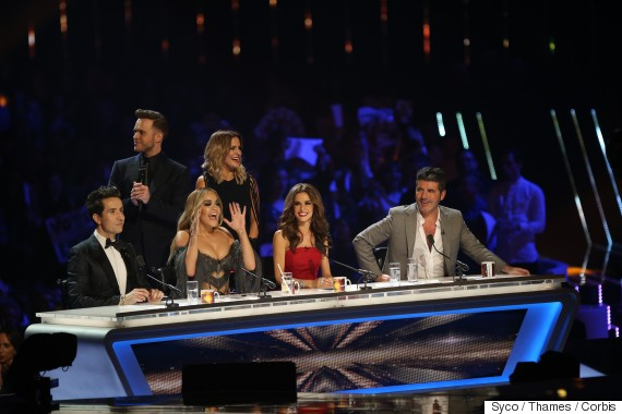 x factor ratings