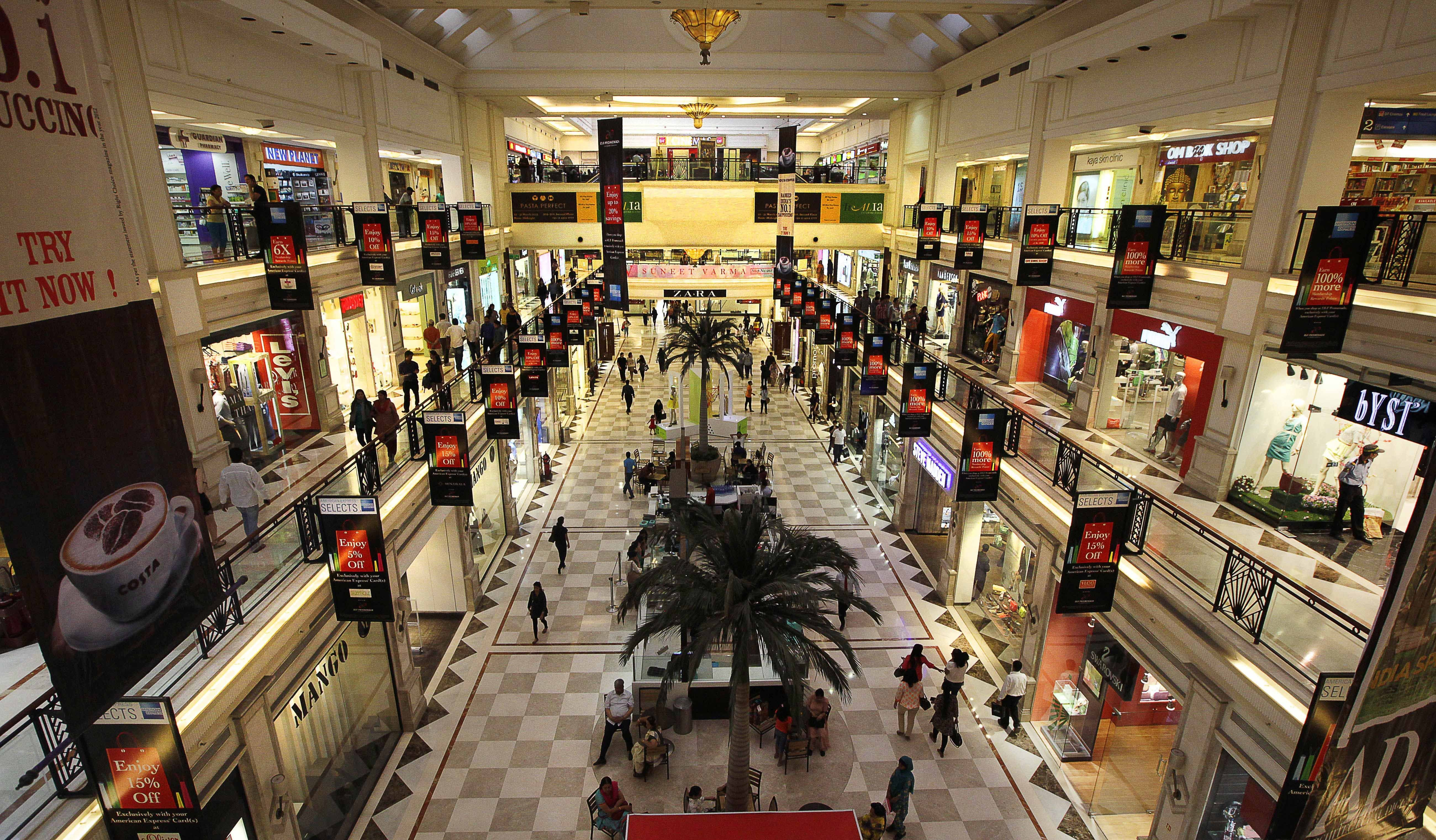 delhi mall