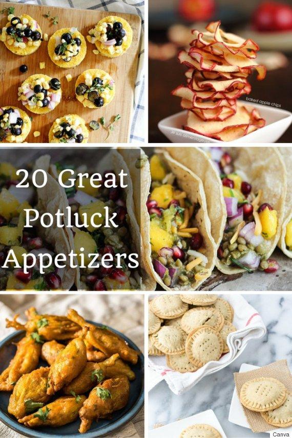 potluck appetizers