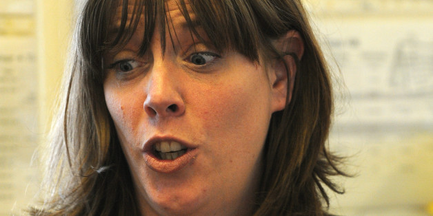 Newly elected Labour MP Jess Phillips, during a visit to Stanville Primary School, Birmingham, with Shadow home secretary Yvette Cooper, the day after she put her name forward to be the next Labour leader.