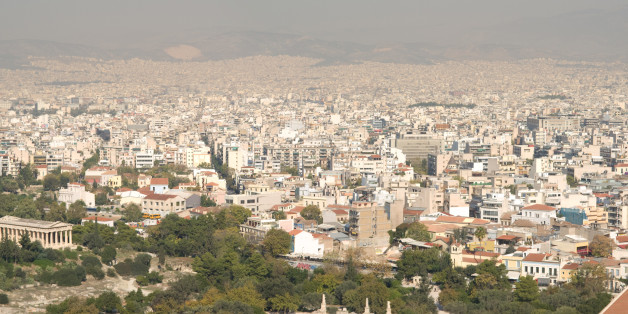 Rather nice photo from the left side of the Akropolis