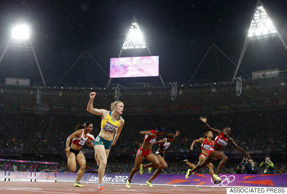 sally pearson gold london