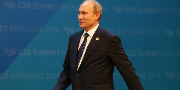Putins rechter Arm ist seltsam steif - aus einem ganz bestimmten Grund