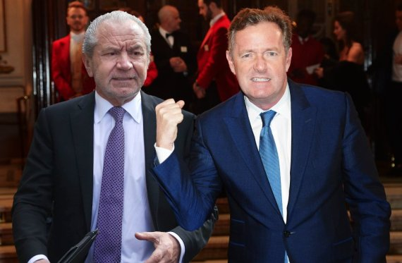 piers morgan and alan sugar