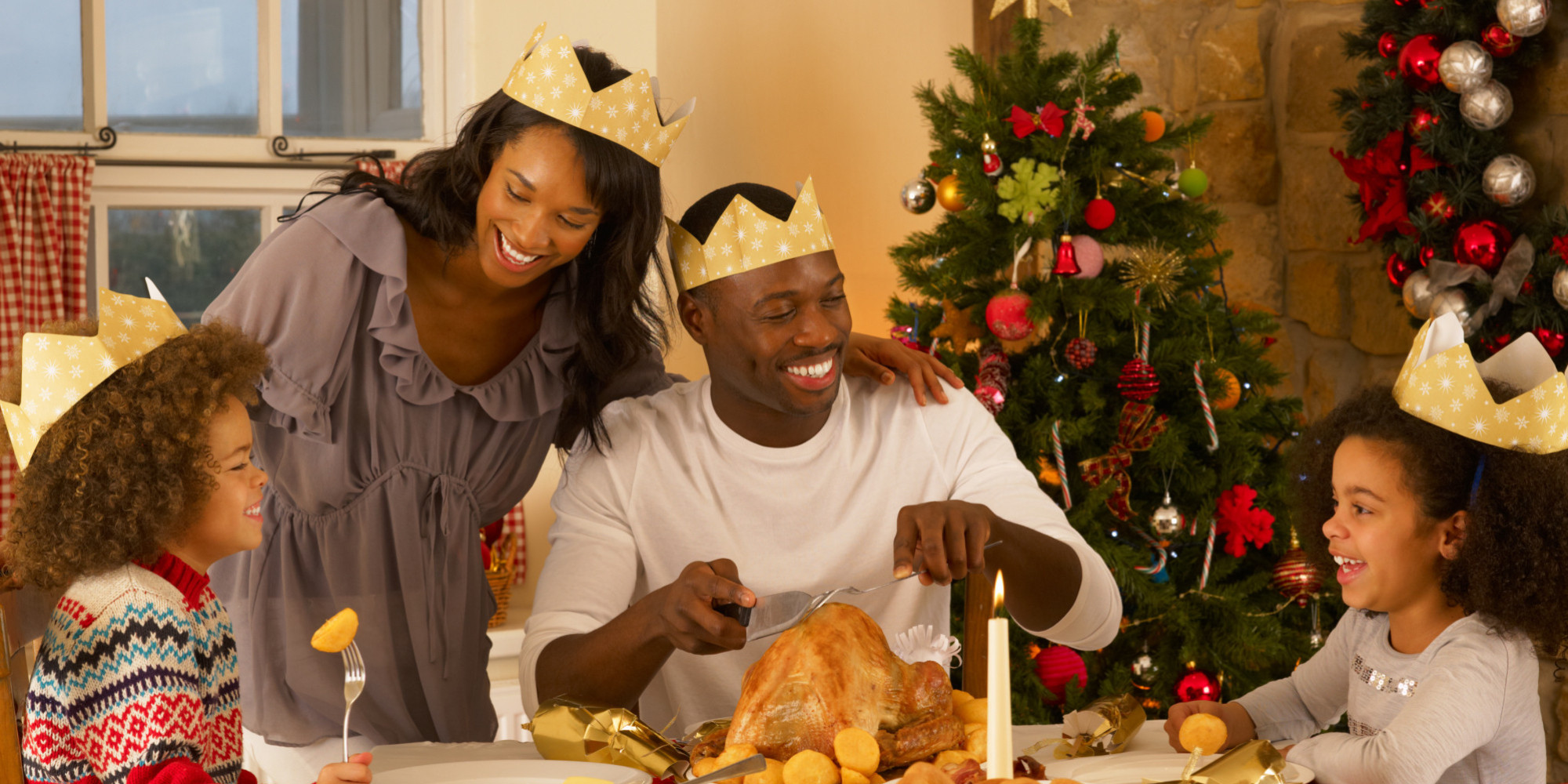 on christmas spirit and the mission of joy huffpost - Black Family Christmas Pictures