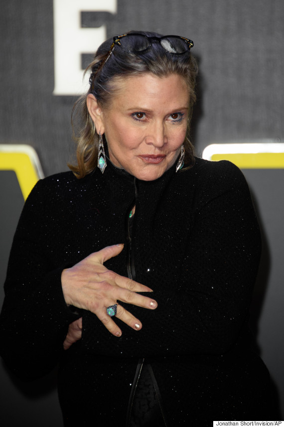 carrie fisher london