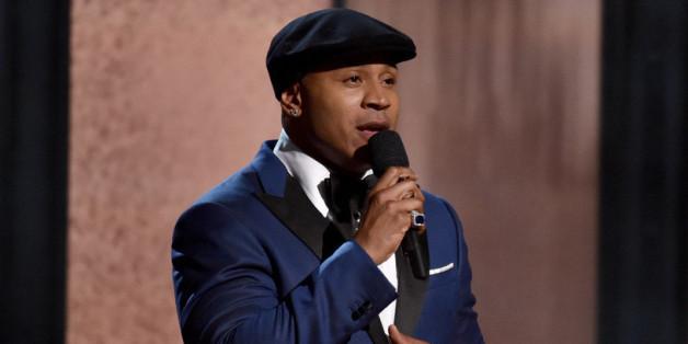 LL Cool J als Moderator bei dem Grammys 2015