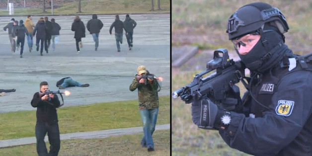 Das Trainingsgelände der neuen Anti-Terror-Einheit BFE+.