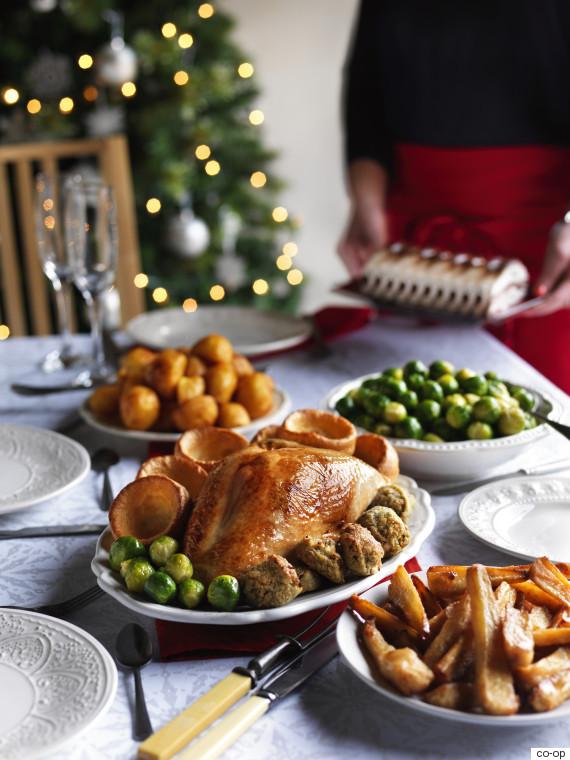 coop dinner - British Christmas Dinner
