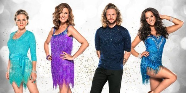 Strictly Come Dancing finalists