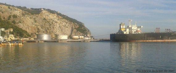 port pétrolier bejaïa