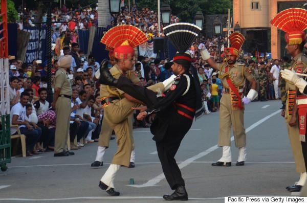 india pakistan wagah