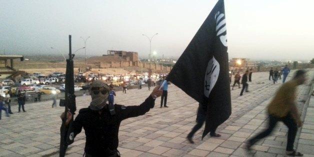 IS-Kämpfer. Foto: Getty