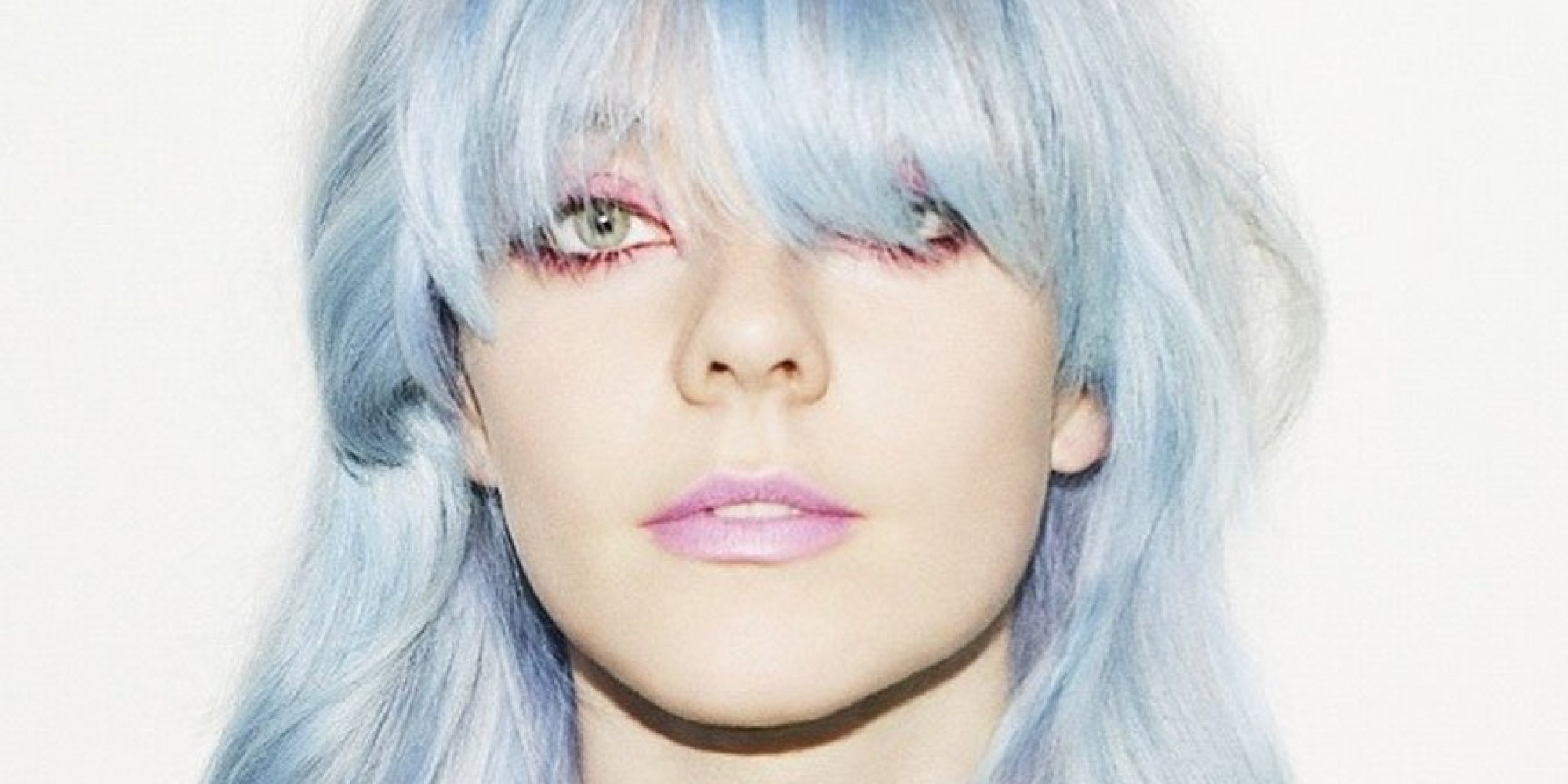 Ice Blue Hair Dye Is The Coolest Trend For Winter