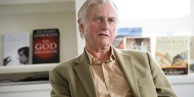 Professor Richard Dawkins, ethologist, evolutionary biologist and author of books including The God Delusion and The Selfish Gene, is seen at Random House, London, on Wednesday, August 14th,2013. Professor Dawkins is to publish an autobiographical book. (Fiona Hanson/AP)