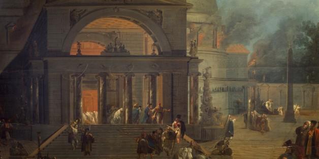 Burning of Diana's temple at Ephesus, July 21, 356 BC. Achaemenid Empire, Turkey, 4th century BC.