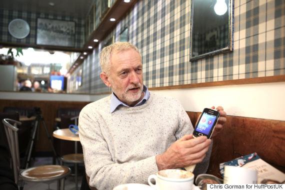 jeremy corbyn phone