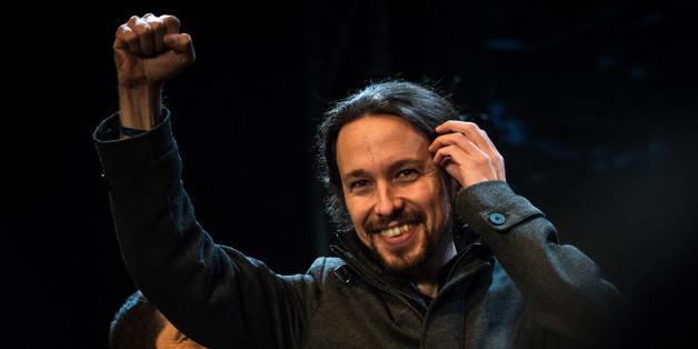 """Der Podemos-Parteichef Pablo Iglesias feierte die """"Geburt eines neuen Spaniens"""""""