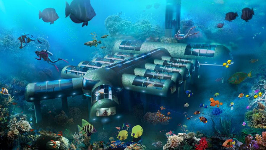 hotel sous marin