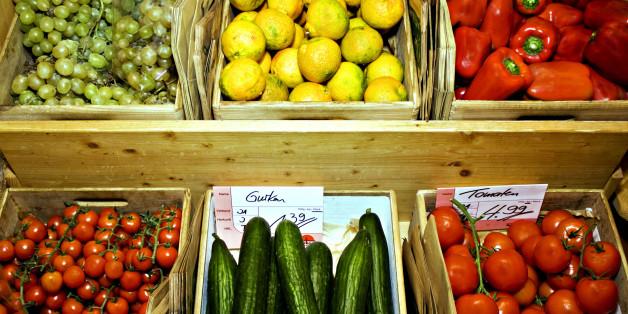 Gemüse im Biomarkt