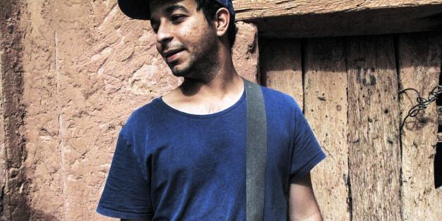 Hassen Ferhani à Ain Sefra en 2013.