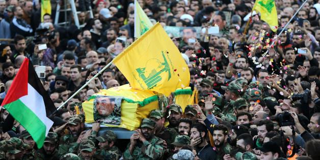Imposantes funérailles pour Samir Kantar dans la banlieue sud de Beyrouth