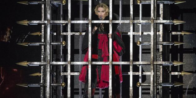 Madonna fühlte sich in Glasgow in ihrer künstlerischen Freiheit beschnitten