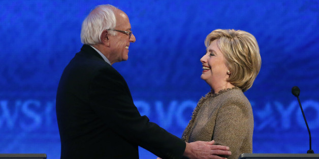 bernie and hillary debate nice guy finishes last unless huffpost