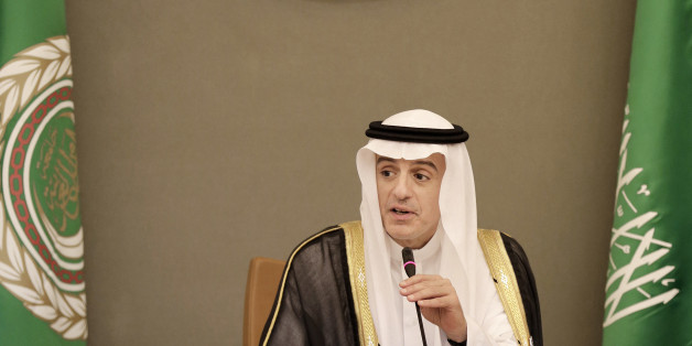 Saudi Arabia's Foreign Minister Adel bin Ahmed Al-Jubeir addresses journalists during a press conference after the final session summit of Arab and South American leaders in Riyadh, Saudi Arabia, Wednesday, Nov. 11, 2015. (AP Photo/Hasan Jamali)
