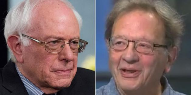 US presidential hopeful Bernie Sanders, left, and his brother Larry