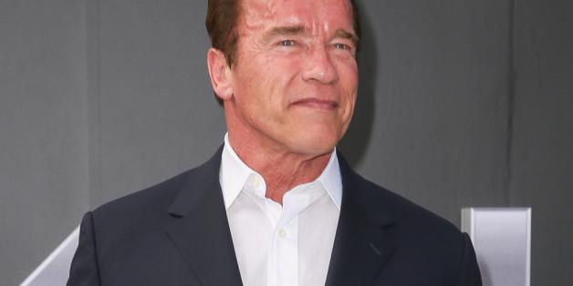 Arnie hat viele Projekte für nächstes Jahr geplant.,