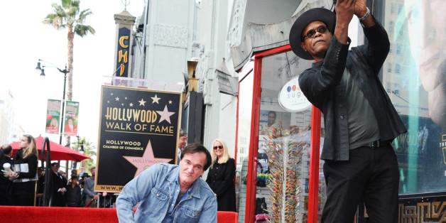 """Quentin Tarantino wurde für seine Leistungen mit einem Stern auf dem legendären """"Walk of Fame"""" geehrt."""