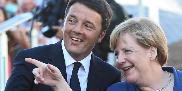 Matteo Renzi kritisiert die deutsche Vorherrschaft