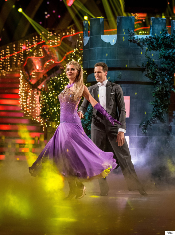 abbey clancy strictly christmas