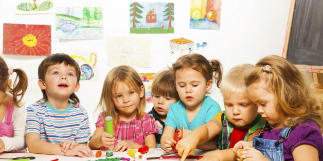 Kinder im Kindergarten. Foto: Getty.
