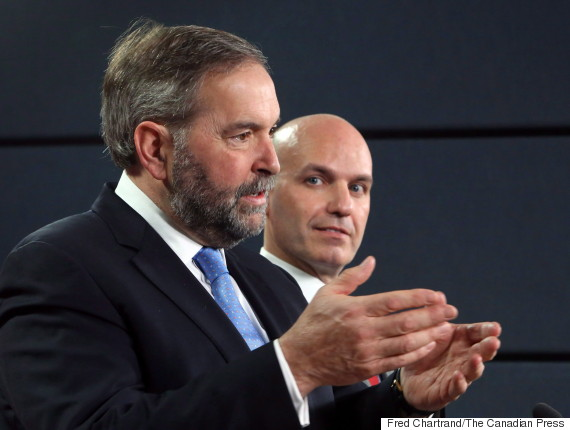nathan cullen thomas mulcair