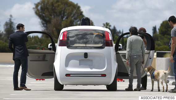 google selfdriving