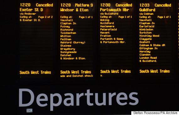 rail christmas