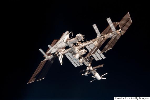 international space station orbits
