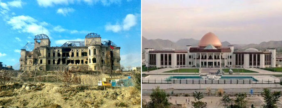 Here Are The Before And After Photos Of Afghanistan S Bomb